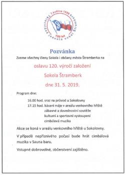 Oslava 120 let od vzniku Sokola Štramberk