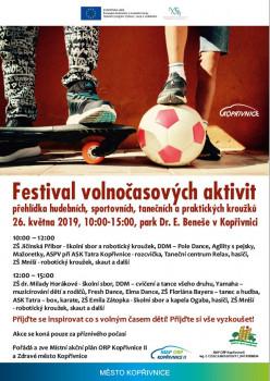 Festival volnočasových aktivit