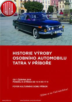 Historie výroby osobního automobilu Tatra v Příboře