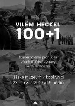 Komentovaná prohlídka: Vilém Heckel 100 1