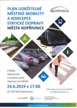 Plán udržitelné městské mobility a koncepce statické dopravy města Kopřivnice