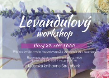 Levandulový workshop