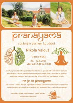 Pranayama - správným dechem ku zdraví