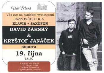 David Žárský a Kryštof Janáček