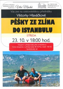 Pěšky ze Zlína do Istanbulu