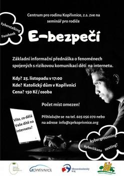 E-bezpečí: seminář pro rodiče