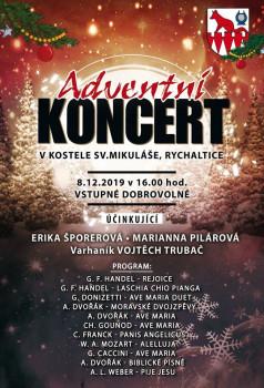 Adventní koncert v kostele sv. Mikuláše v Rychalticích