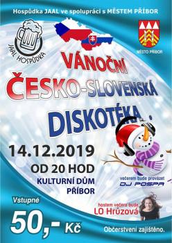 Vánoční Česko-Slovenská diskotéka