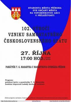 Výročí vzniku samostatného československého státu