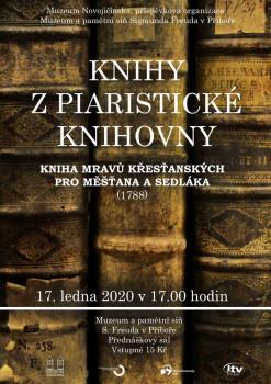 Knihy z piaristické knihovny