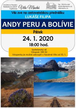 Andy Peru a Bolívie