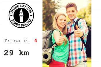 4. trasa - Z Kopřivnice přes Hukvaldy a Frenštát (29 km)