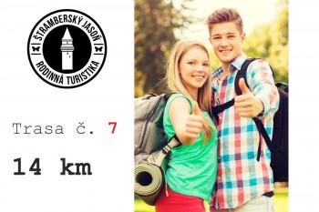 7. trasa - Z Kopřivnice přes Šostýn a Červený kámen (13 km)