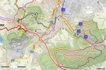 4. trasa - Z Kopřivnice přes Šostýn a Červený kámen (13 km)