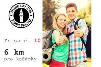 10. trasa pro kočárky - Z Kopřivnice přes Paseky (6 km)