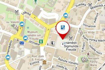 Parkoviště – náměstí Sigmunda Freuda