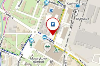 P09) Parkoviště – ul. Husova, Kachlovka