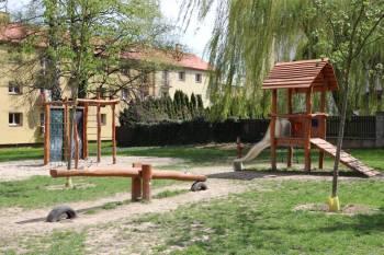 Dětské hřiště na Koreji