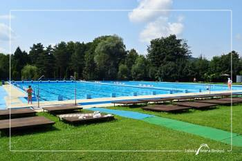 Outdoor swimming pool Kopřivnice