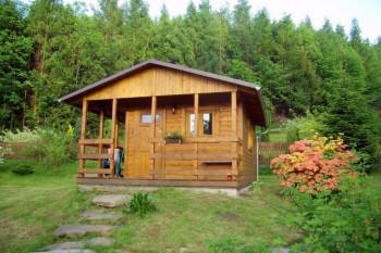 Ubytování - chatka Krnalovice