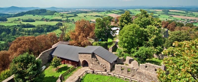 Výlet na hrad Hukvaldy