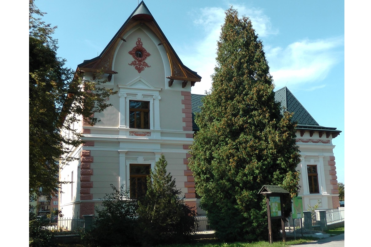 Penzion a kavárna Vila Machů
