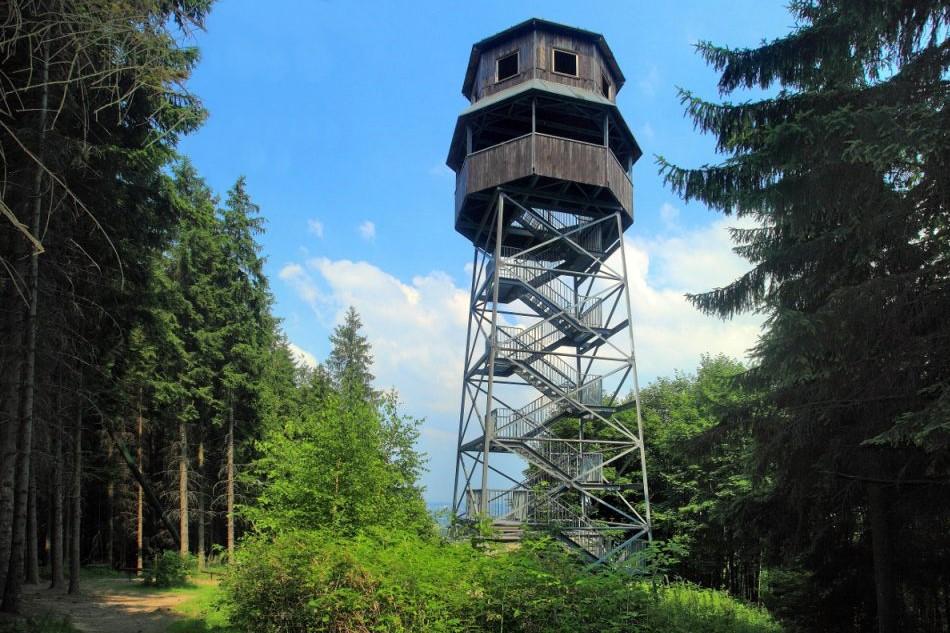 Palkovické hůrky - Rozhledna Panorama