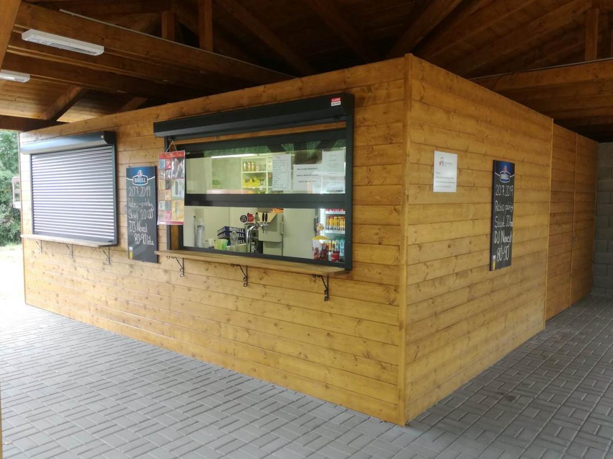 Bufet na Větřkovické přehradě