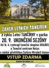 Závěr letních tančíren