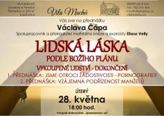 Lidská láska podle Božího plánu - Václav Čáp