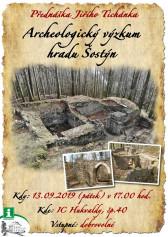 Archeologický výzkum hradu Šostýn